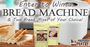 Oster Bread Machine + 2 Bread Mixes from The Prepared Pantry