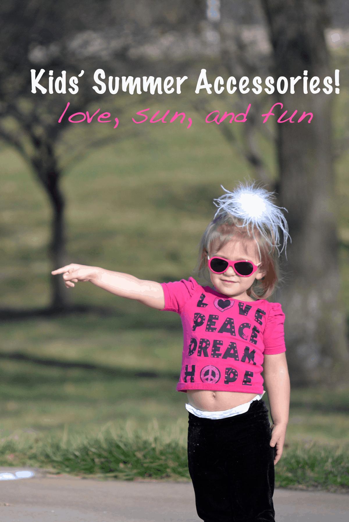 Kids' Summer Accessories and Babiators