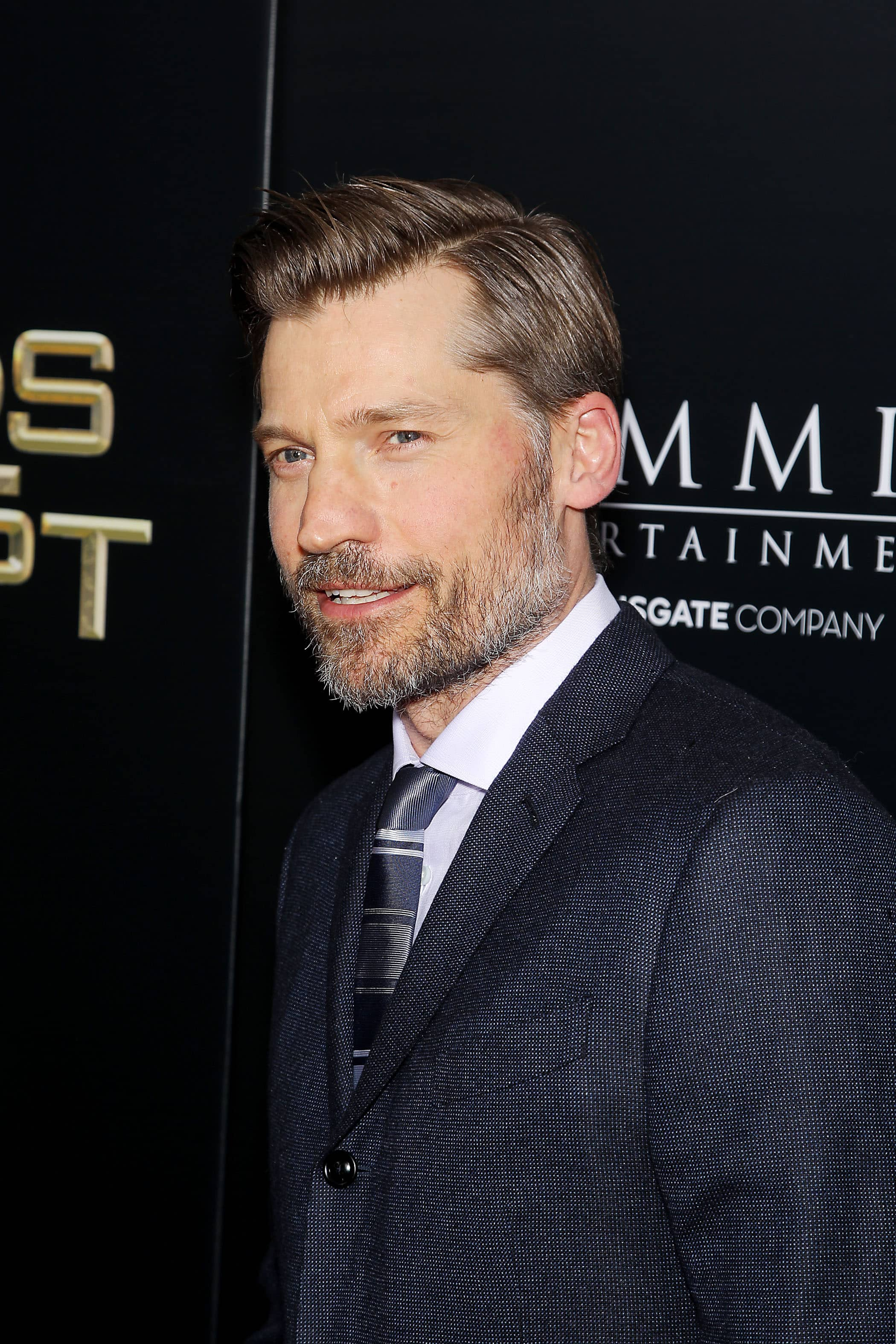 """- New York, NY - 2/24/16 - Summit Entertainment - A Lionsgate Company Presents the New York Premiere of """"Gods of Egypt"""" -PICTURED: Nikolaj Coster-Waldau -PHOTO by: Marion Curtis/StarPix -FILENAME: MC_16_01084031.JPG -LOCATION: AMC Lowes Lincoln Square 13 Startraks Photo New York,  NY For licensing please call 212-414-9464  or email sales@startraksphoto.com Image may not be published in any way that is or might be deemed defamatory, libelous, pornographic, or obscene. Please consult our sales department for any clarification or question you may have. Startraks Photo reserves the right to pursue unauthorized users of this image. If you violate our intellectual property you may be liable for actual damages, loss of income, and profits you derive from the use of this image, and where appropriate, the cost of collection and/or statutory damages."""