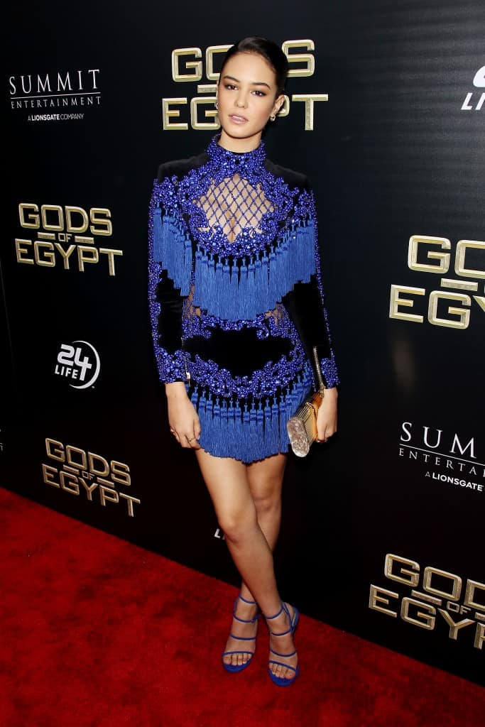 """- New York, NY - 2/24/16 - Summit Entertainment - A Lionsgate Company Presents the New York Premiere of """"Gods of Egypt"""" -PICTURED: Courtney Eaton -PHOTO by: Marion Curtis/StarPix"""