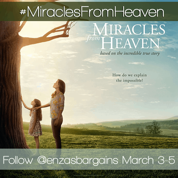 Miracles From Heaven Press Junket - I'm Attending!