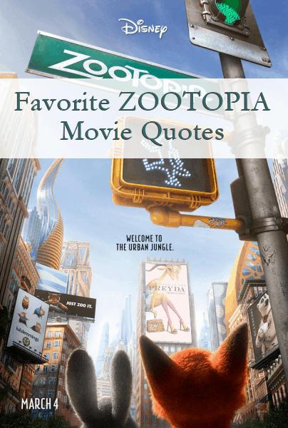 Zootopia Movie Quotes
