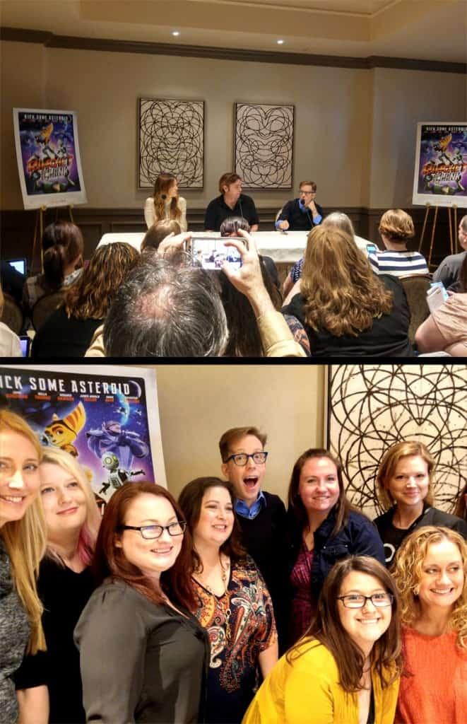 Ratchet & Clank Press Junket Interviews Kicked some Asteroid!