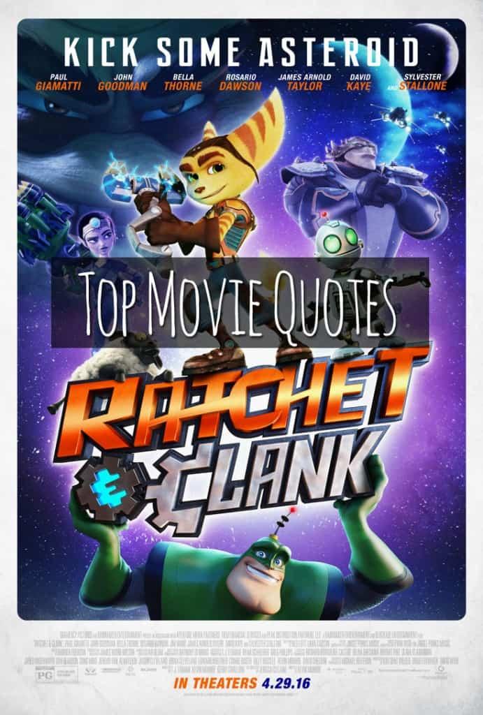 Ratchet & Clank Movie Quotes
