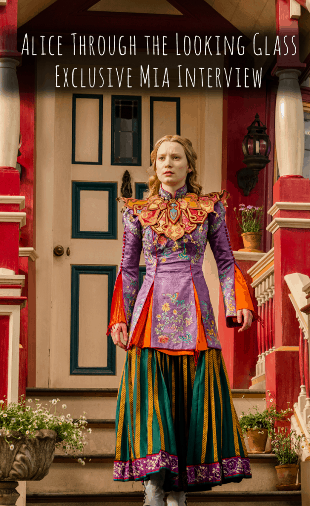 Alice Through the Looking Glass Mia Interview
