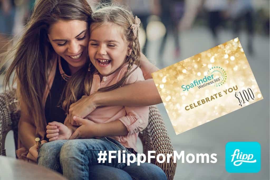Giveaway Time - FlippForMoms SpaFinder.com $100 Giveaway!