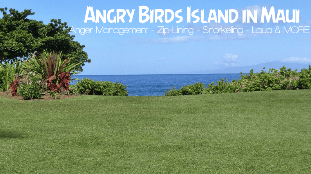 Angry Birds Bird Island – Experiencing Maui
