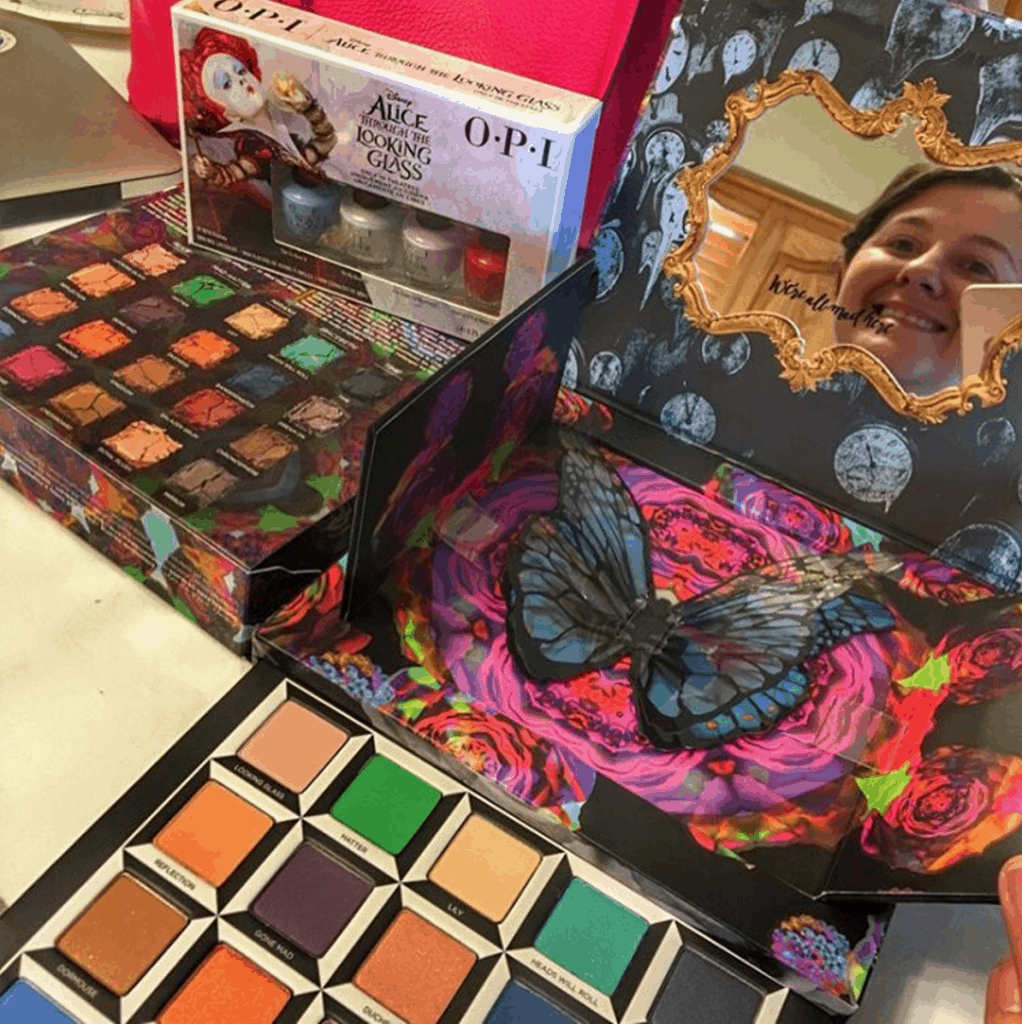 Alice Through The Looking Glass Urban Decay Makeup!