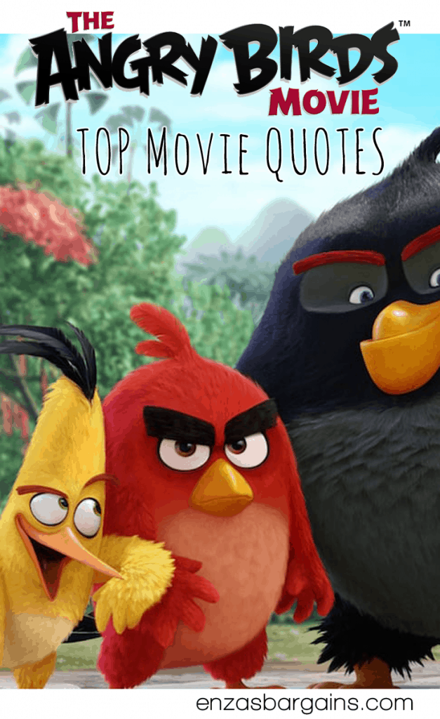 BEST Angry Birds Movie Quotes - 50 AWESOME QUOTES!