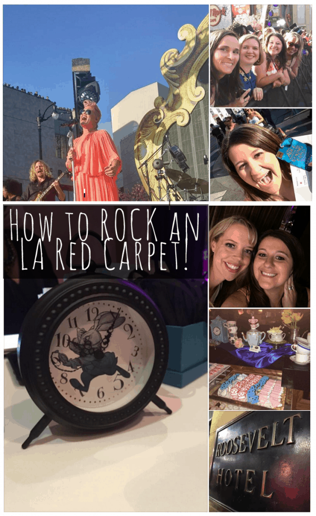 How to ROCK an LA Red Carpet! #ThroughTheLookingGlassEvent #ZootopiaEvent