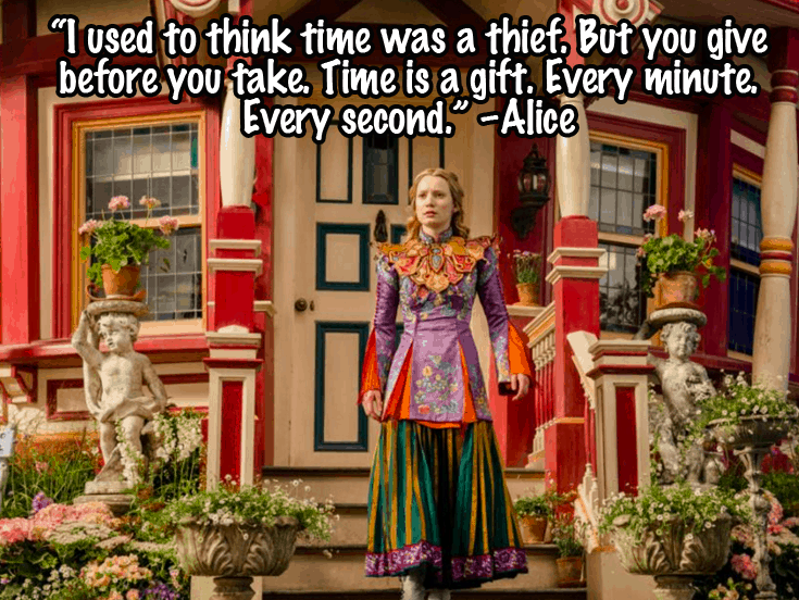 Alice Through the Looking Glass Quotes