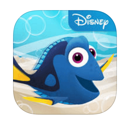 New Finding Dory App - Just Keep Swimming
