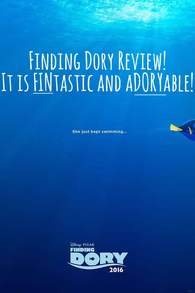 Finding Dory Review! It is FINtastic and aDORYable!