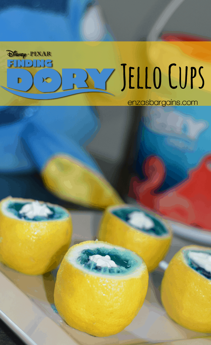 Finding Dory Themed Food and Crafts - Party Ideas