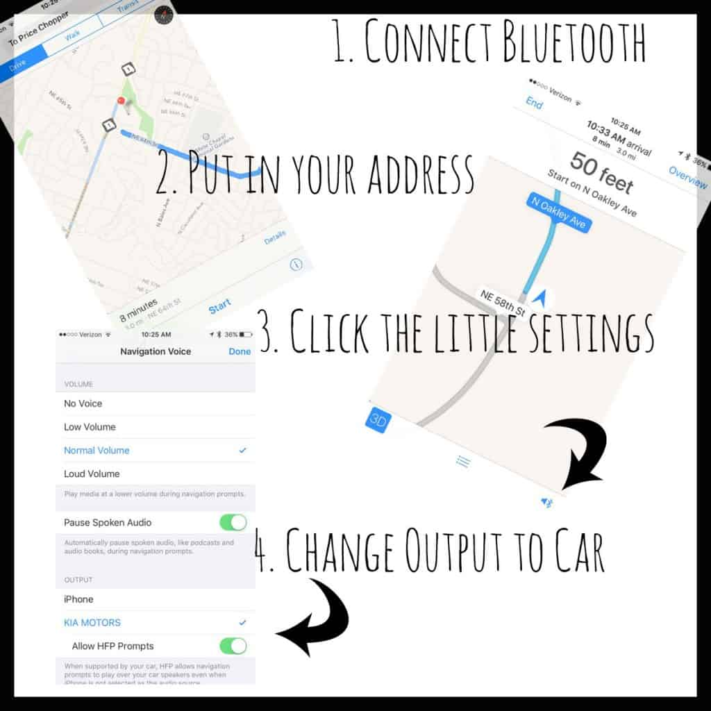My Kia Sorento Bluetooth and Maps App Sound & Verizon