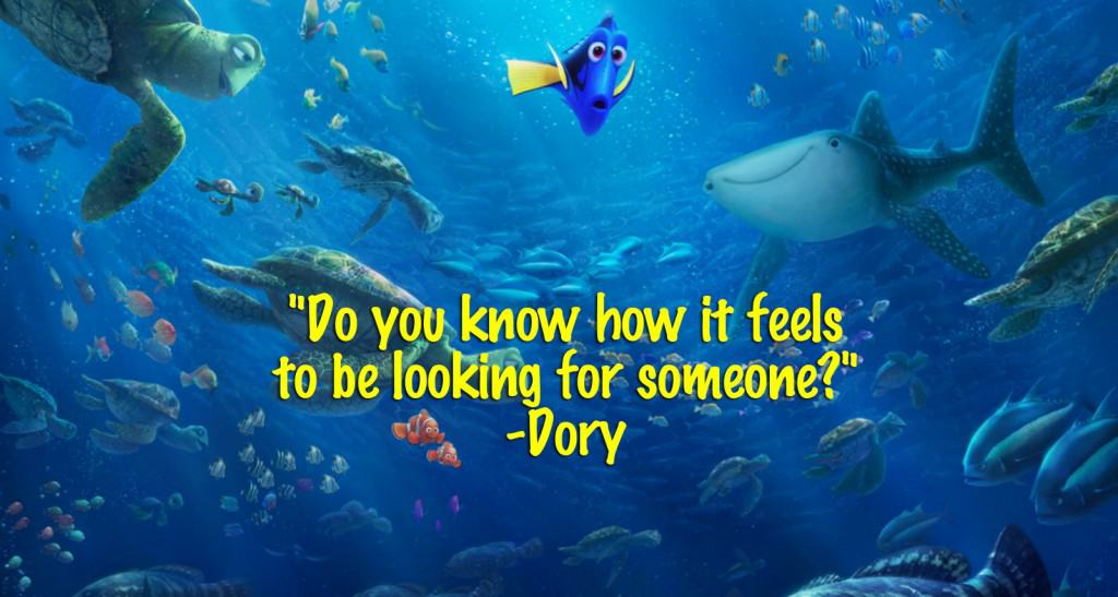 Dory Quotes Classy Finding Dory Quotes  Entire List Of The Best Movie Lines In The