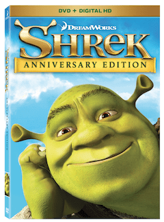 Shrek 15th Anniversary Edition and Shrek 4-Movie Collection on Blu-ray and DVD!
