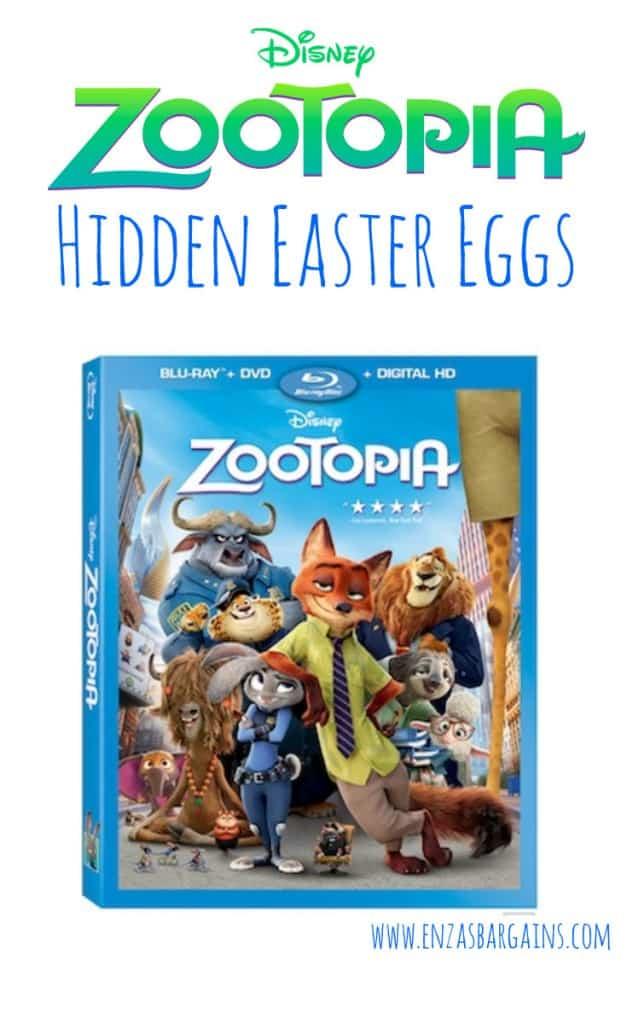 Zootopia Easter Eggs List