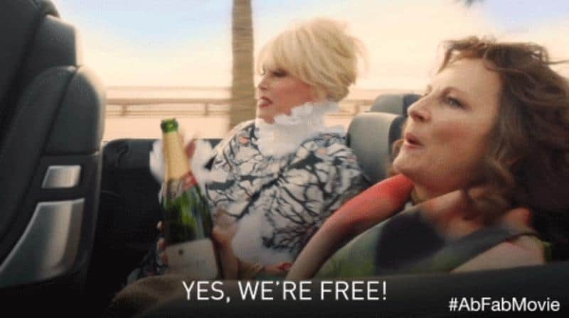 Absolutely Fabulous: The Movie Quotes and Review