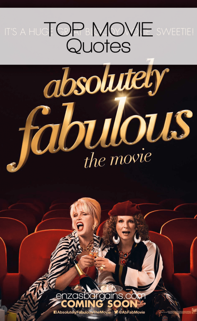Absolutely Fabulous: The Movie Quotes