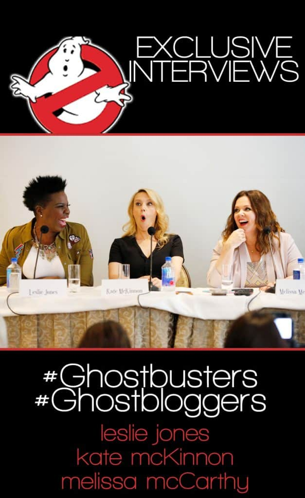 Exclusive Ghostbusters 2016 Interviews - Blogger Press Junket