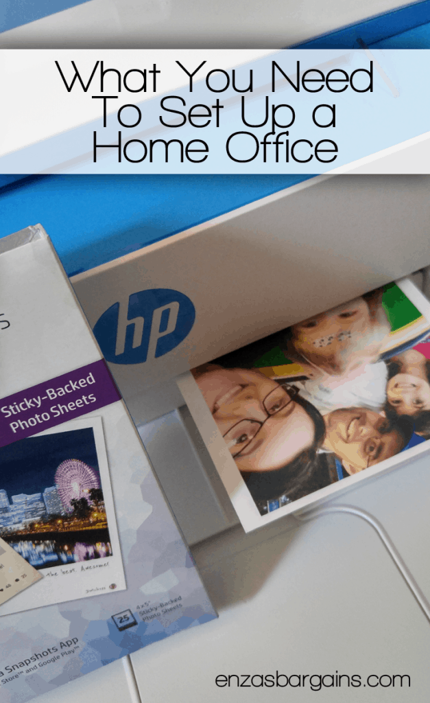 Setting up a Home Office with HP - FREE 3 Months Worth of INK!