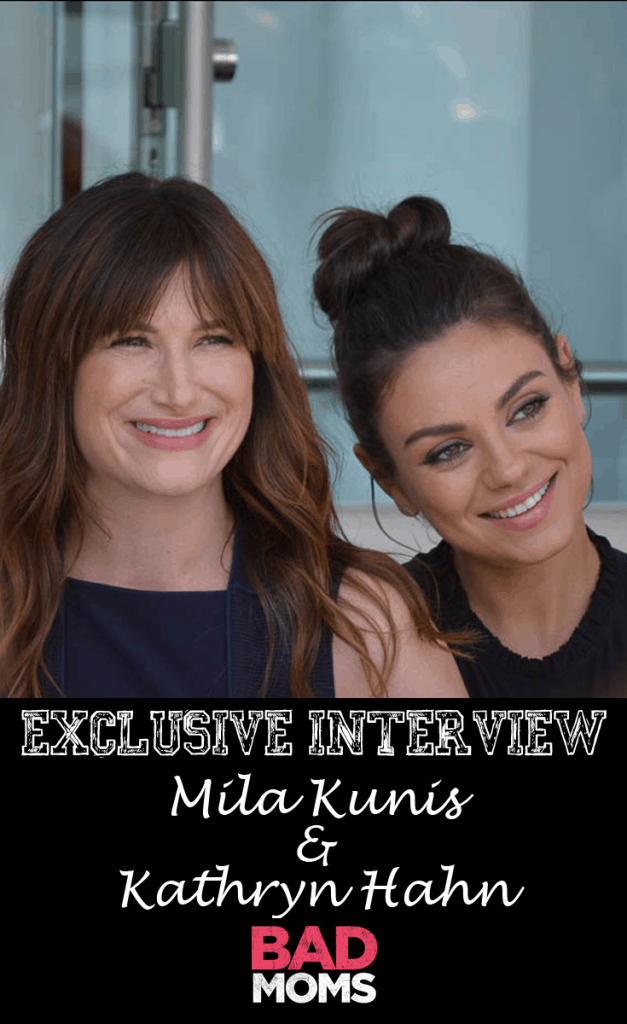 Mila Kunis and Kathryn Hahn Interview for Bad Moms