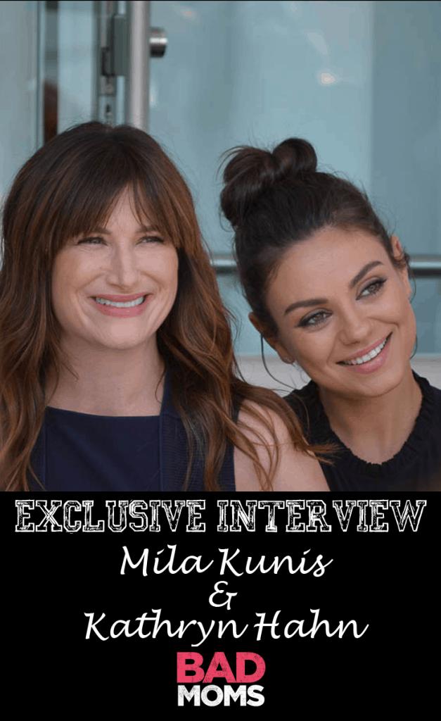 Bad Moms Press Junket in LA