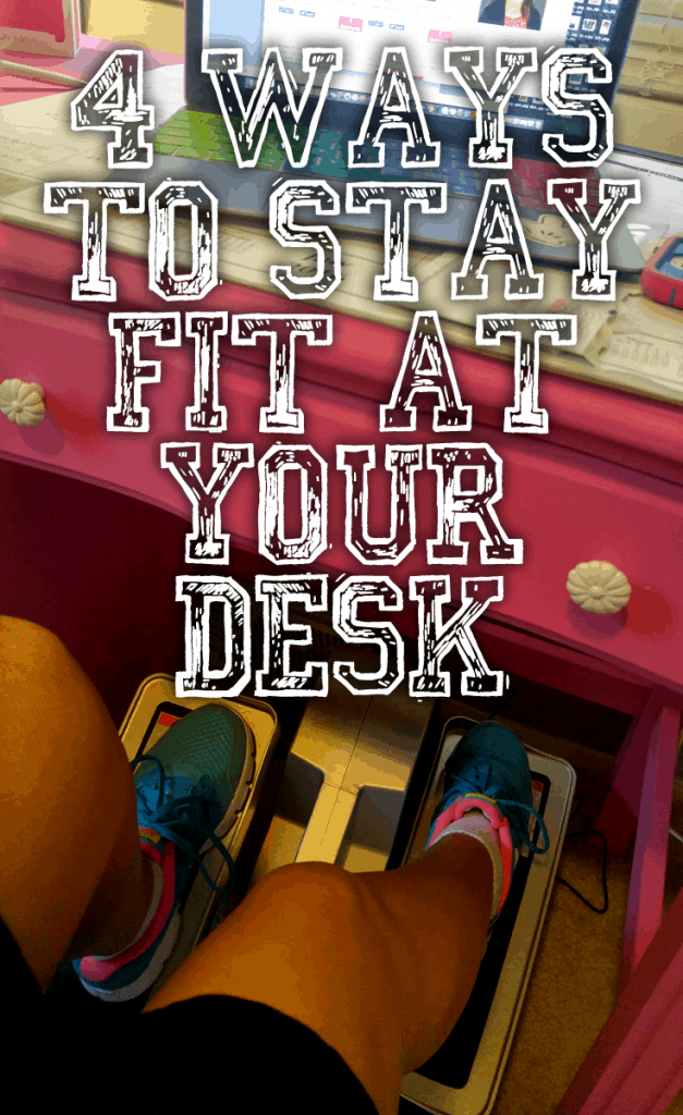 How to stay fit with a desk job! Cubii Review