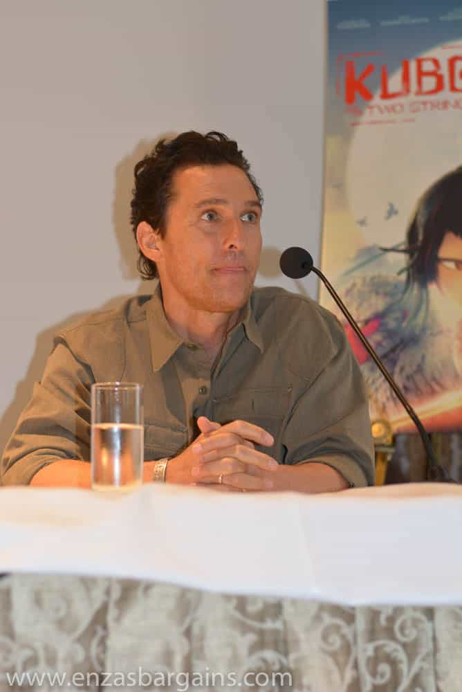 Kubo Interview with Matthew McConaughey, Charlize Theron, and Art Parkison