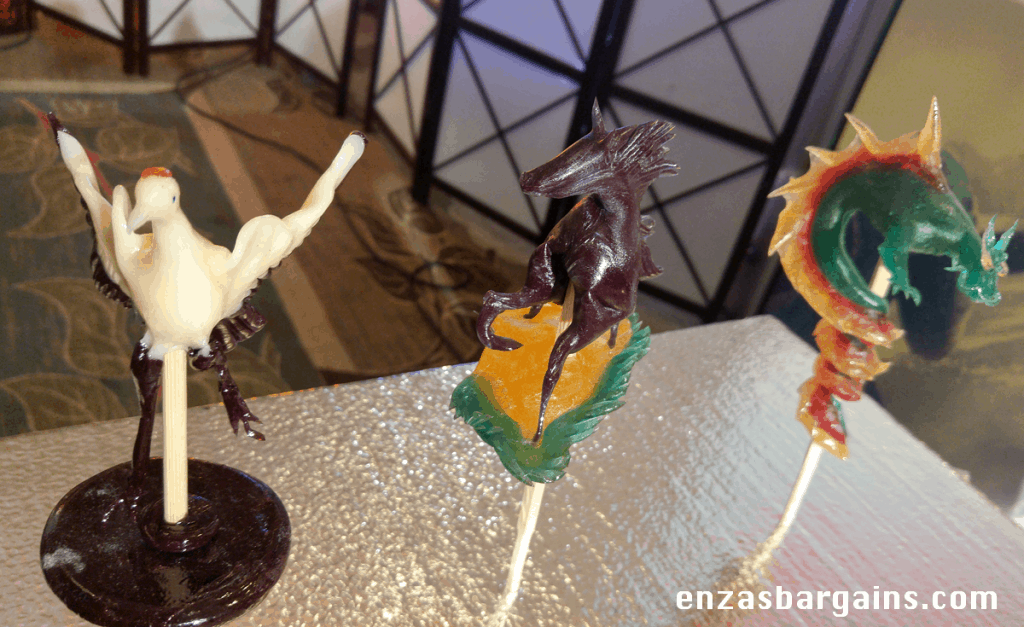 Kubo Movie Press Junket - Japanese Candy Art with Shan and more!