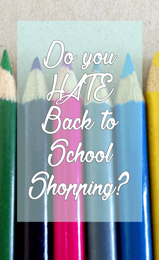 Do you hate back to school shopping? Follow these tips to help with anxiety and save some money!