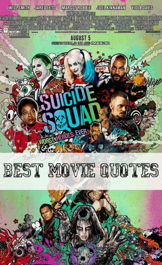 Suicide Squad Movie Quotes - LIST of our FAVORITES