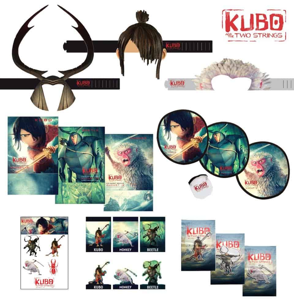 Kubo and the Two Strings Giveaway Prize Pack