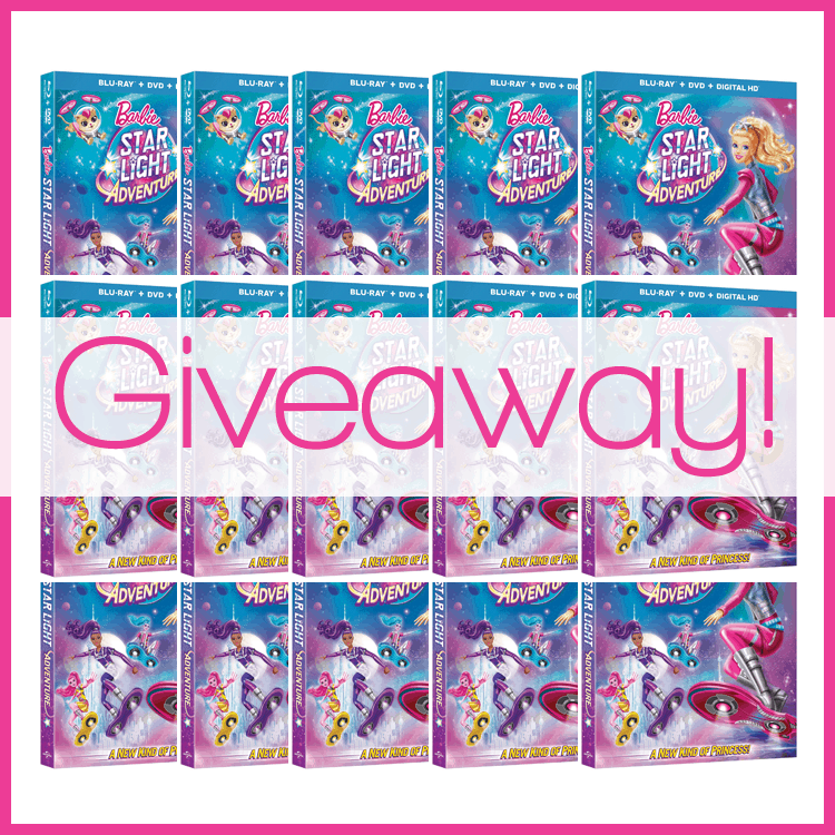 Barbie Starlight Adventures Giveaway - 15 Winners