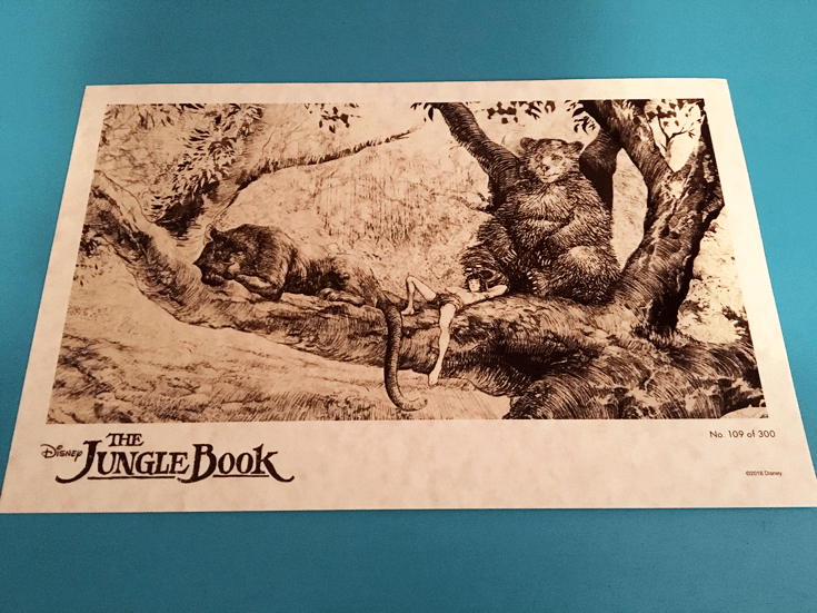 Jungle Book DVD Available - Limited Lithograph Giveaway