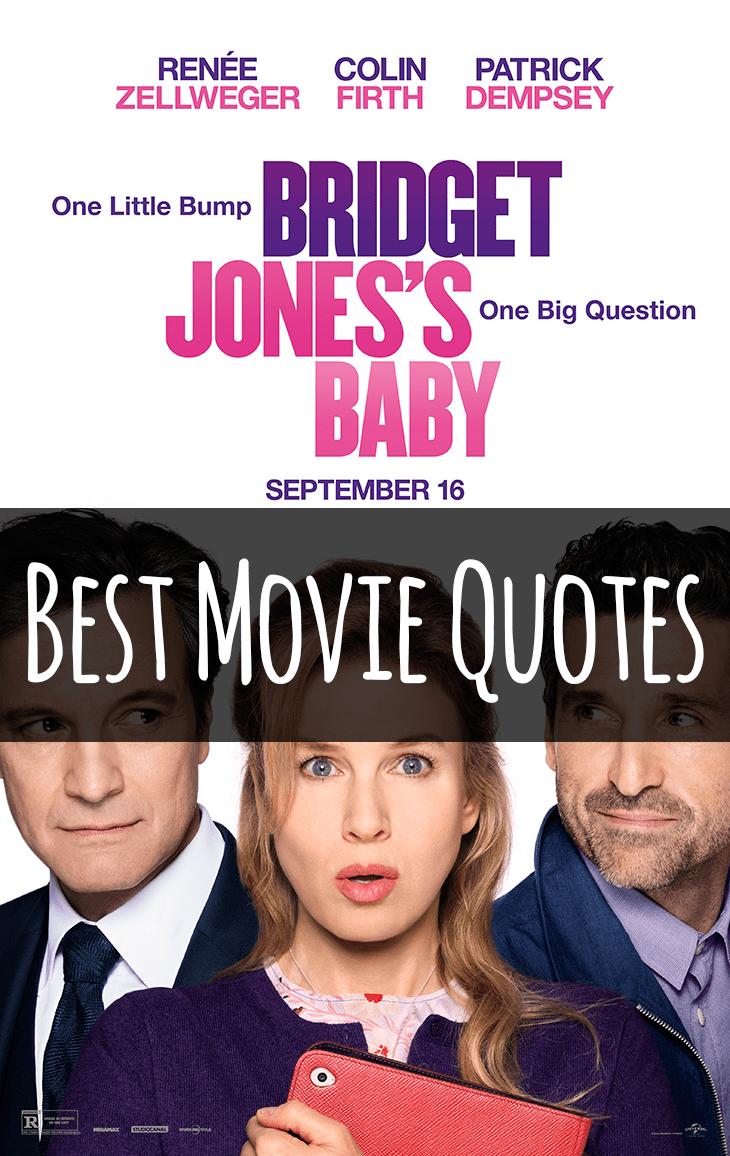 Bridget Jones's Baby Movie Quotes - Huge List