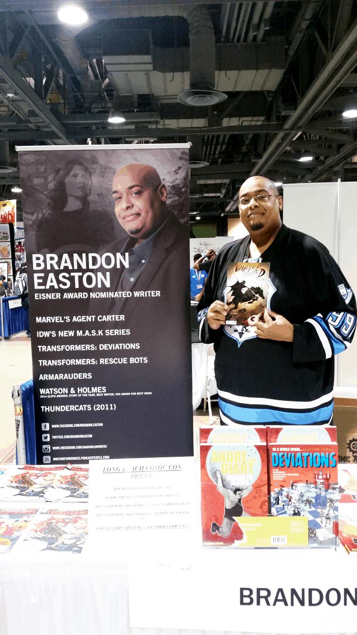 Brandon Easton - Agent Carter Writer! Long Beach Comic Con 2016