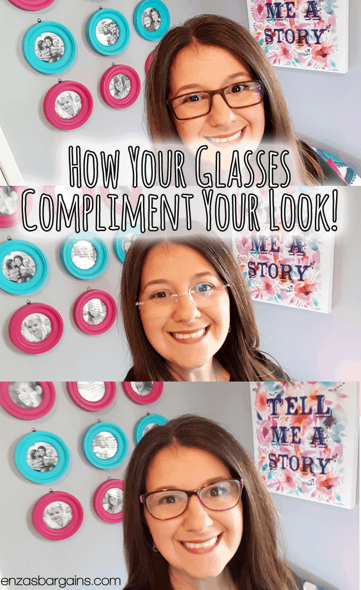 How glasses compliment your makeup!