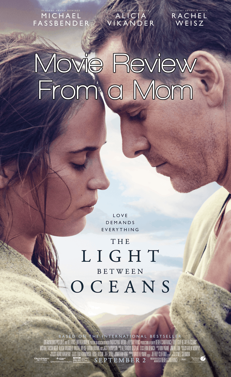 Dreamworks The Light Between Oceans Movie Review - From TWO moms!