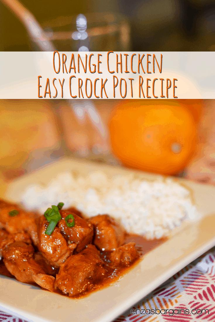 Orange Chicken Easy Crock Pot Recipe