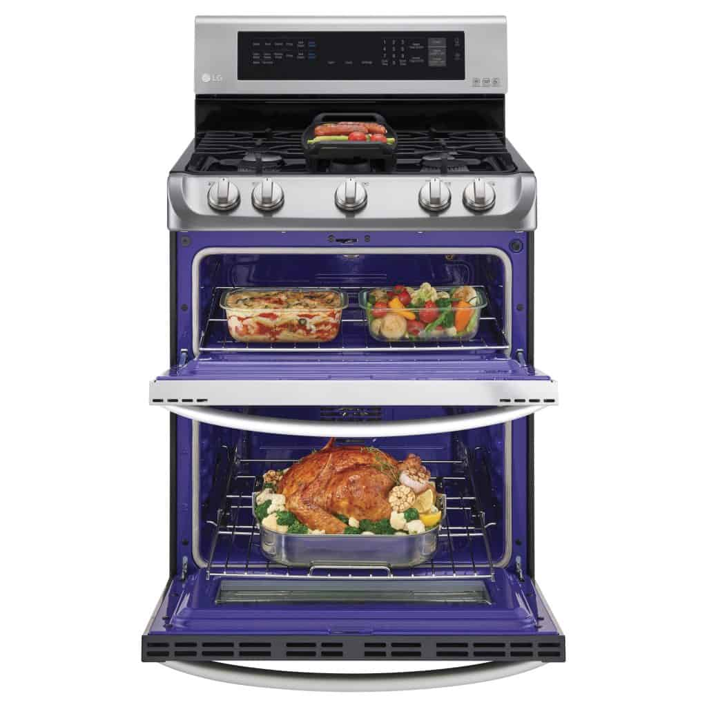 Turn Holiday Cooking Into FUN with the LG ProBake Double Oven