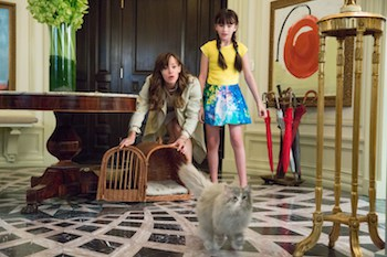 """M201 (Left to right.) Jennifer Garner and Melina Weissman star in EuropaCorp's """"NINE LIVES"""". Photo Credit: Takashi Seida © 2016 EuropaCorp. All rights reserved."""