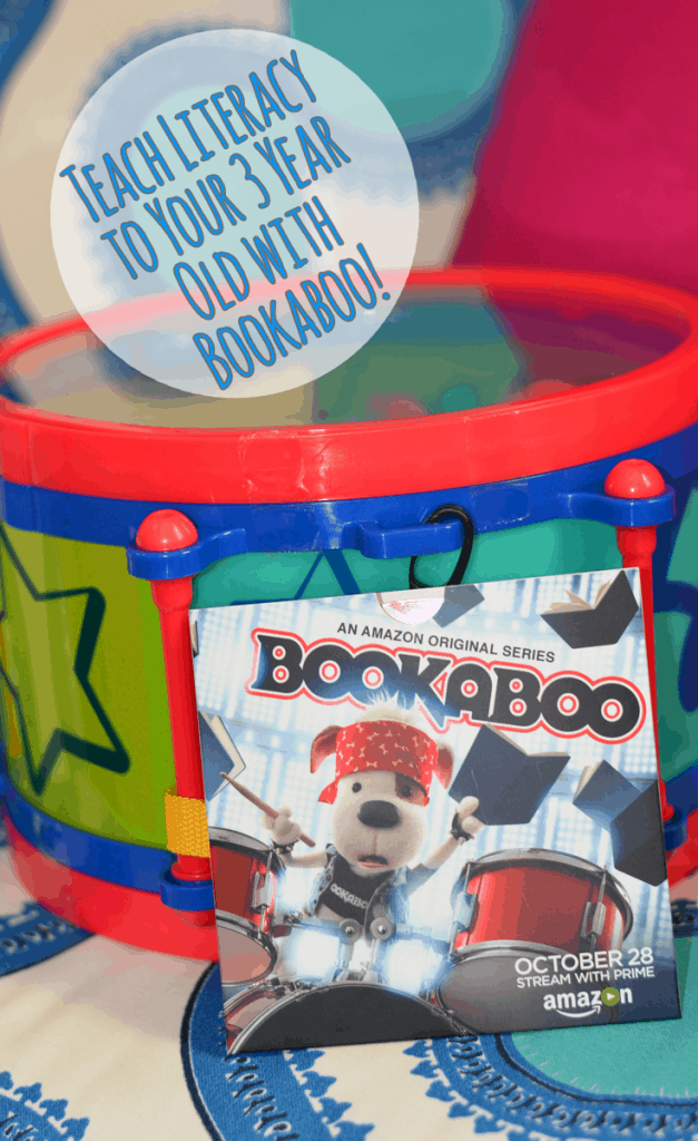 Teach Literacy to Your 3 Year Old with Bookaboo!