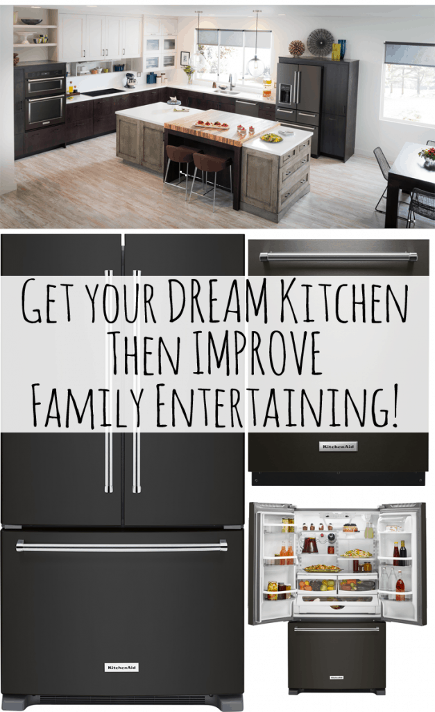 Family Entertainment with KitchenAid and Best Buy