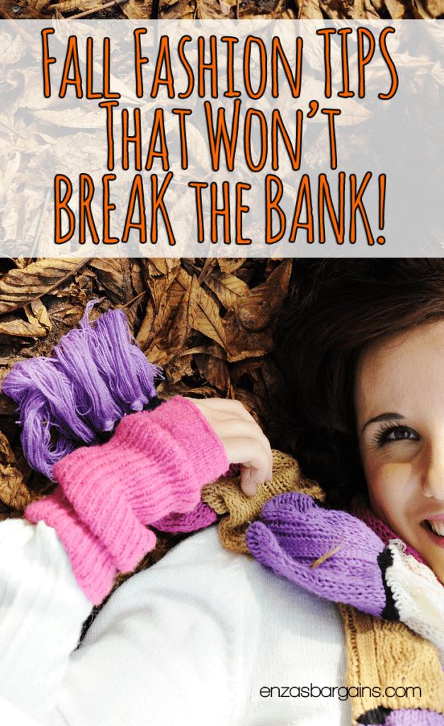 Fall Fashion Tips That Won't Break the Bank