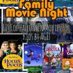 Halloween Movies For Kids by Age- List of 21!