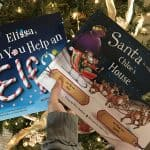 Creative Elf on the Shelf Entrance Idea- #EBHolidayGiftGuide