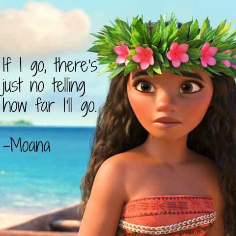 Moana Movie Quotes