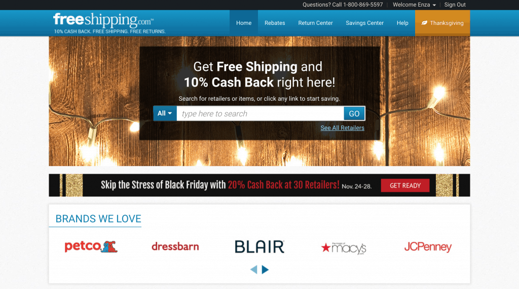 FreeShipping.com Benefits